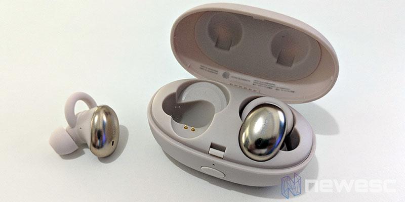 Review 1More True Wireless EarBuds caja de carga