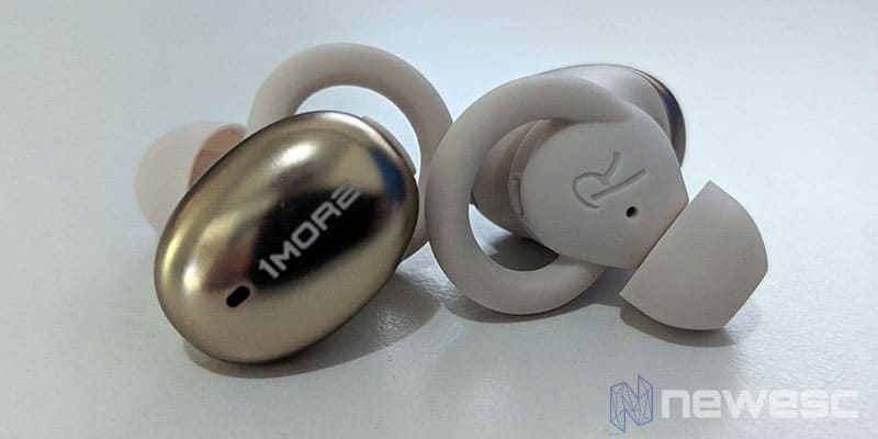 Review 1More True Wireless EarBuds diseño