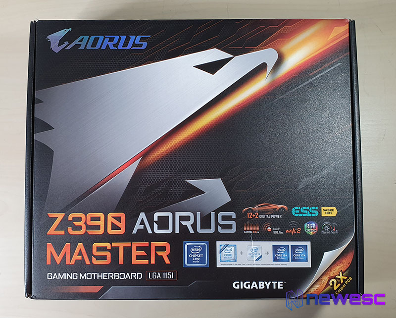 Review AORUS Z390 MASTER 1