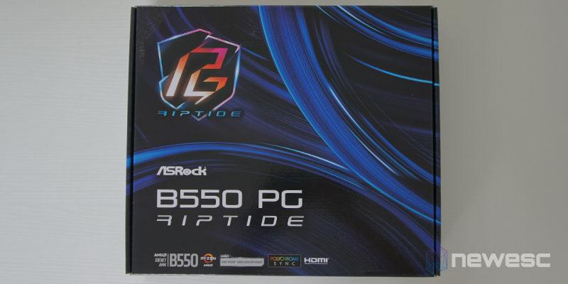 Review ASRock B550 PG Riptide 1
