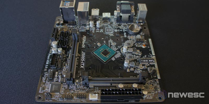 Review ASRock J5005 ITX 2