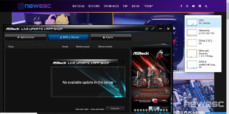 Review ASRock J5005 ITX 6