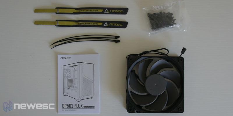 Review Antec DP502 Flux 0