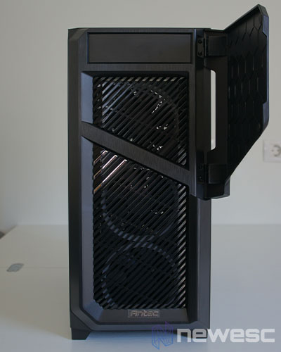 Review Antec DP502 Flux 4