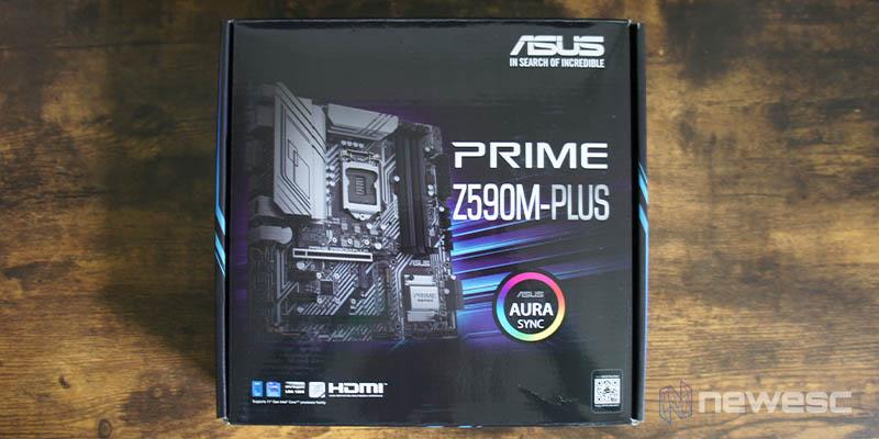 Review Asus Z590 M Plus 1