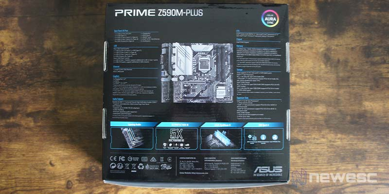 Review Asus Z590 M Plus 2