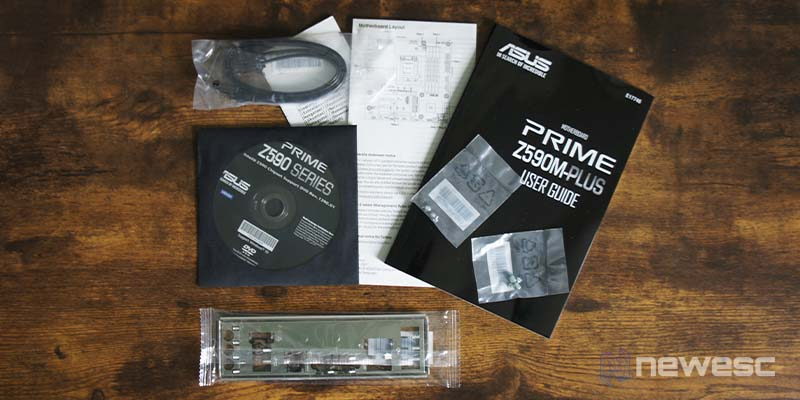 Review Asus Z590 M Plus 3