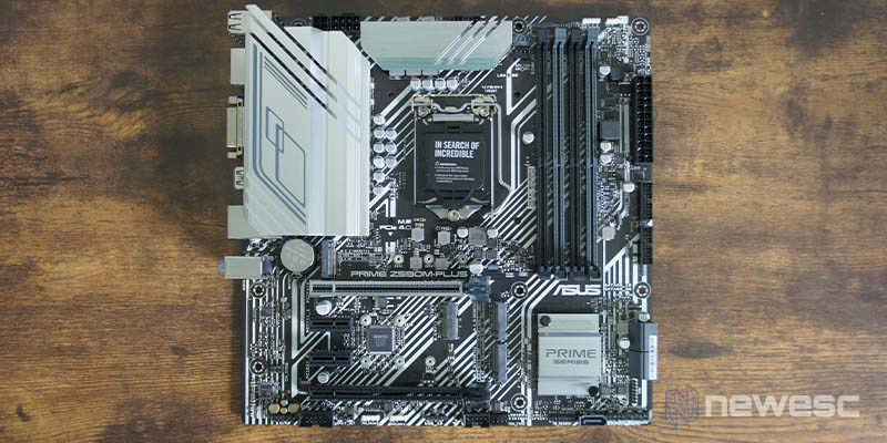Review Asus Z590 M Plus 4