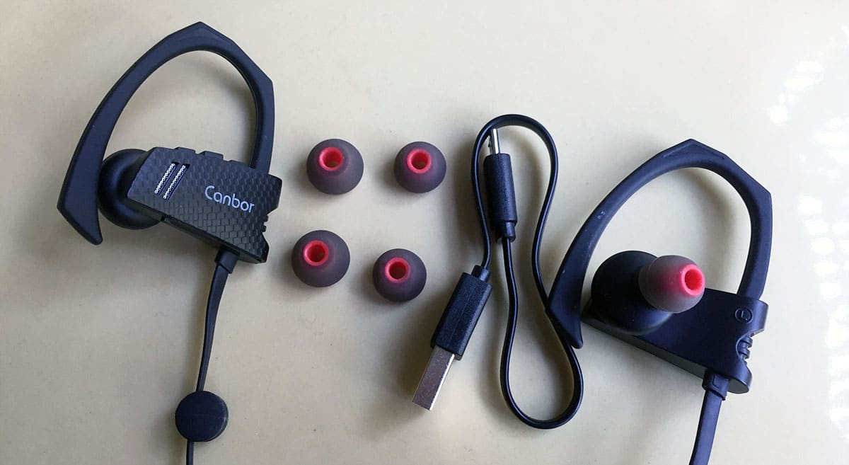 Review Auriculares Bluetooth Canbor acessorios