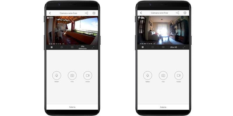 Review Camara vigilancia inalambrica EZVIZ Estacion base - App 1