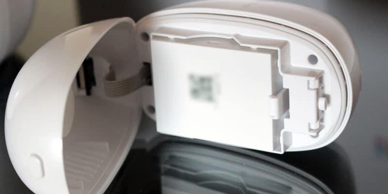 Review Camara vigilancia inalambrica EZVIZ Estacion base - bateria