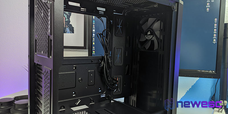 Review Corsair Carbide 175R espacio ventiladores