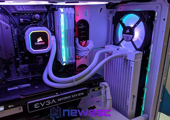 Review Corsair H100i RGB PLATINUM SE