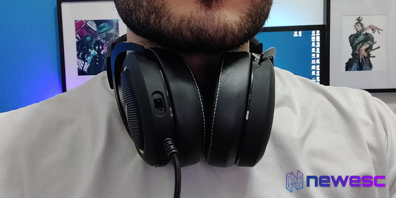 Review Corsair HS60 Pro en el cuello