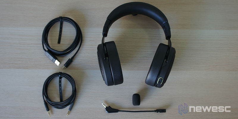 Review Corsair HS70 Bluetooth 1