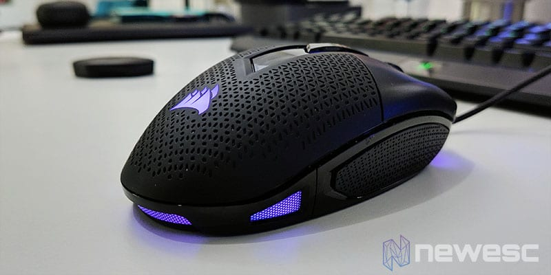 Review Corsair Nightsword RGB Diseño Curvo Palmar