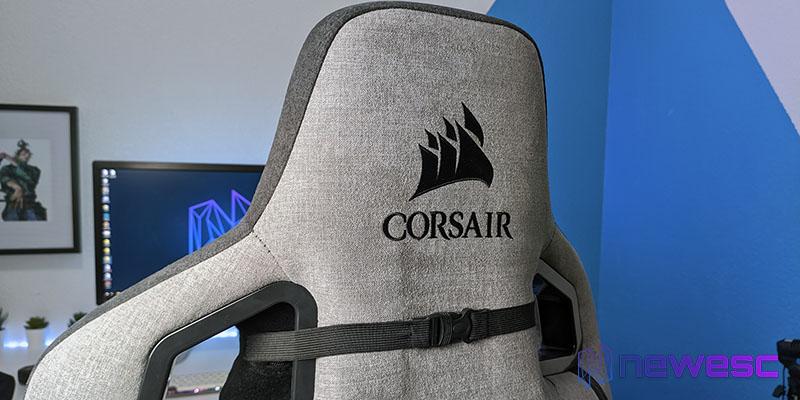 Review Corsair T3 RUSH material de construcción