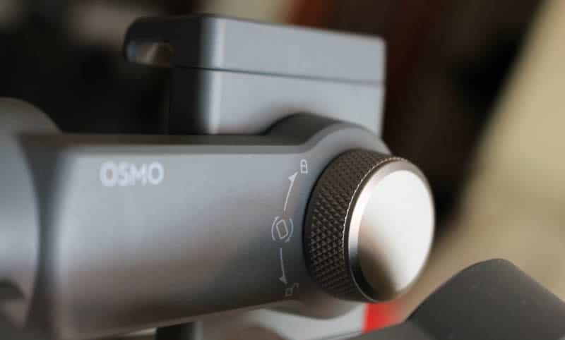 Review DJI Osmo Mobile 2 NewEsc bloqueo giro