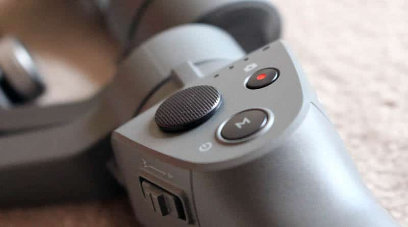 Review DJI Osmo Mobile 2 NewEsc detalle botones