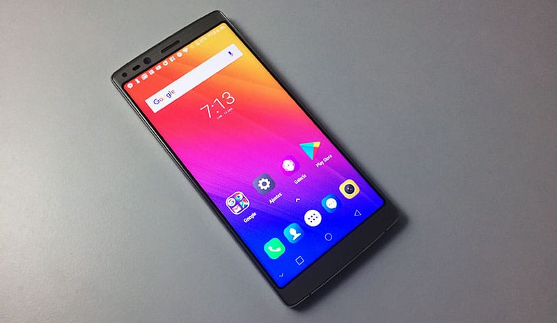 Review DOOGEE Mix 2 pantalla