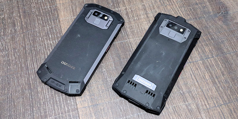 Review Doogee S70 y S80 carcasa trasera