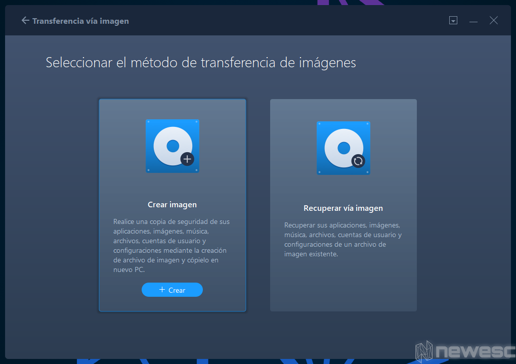 Review EaseUS Todo PCTrans Backup de Imagen 2
