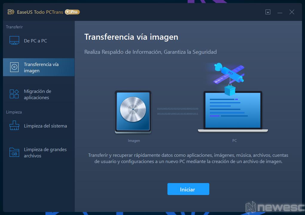 Review EaseUS Todo PCTrans Backup de Imagen