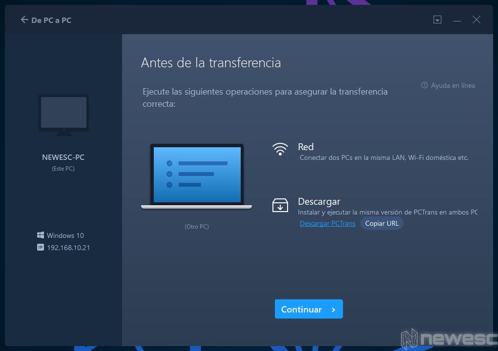 Review EaseUS Todo PCTrans De PC a PC 2