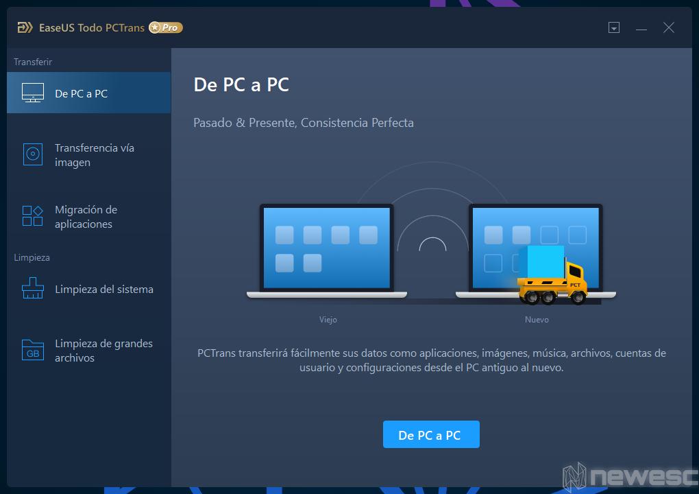 Review EaseUS Todo PCTrans De PC a PC