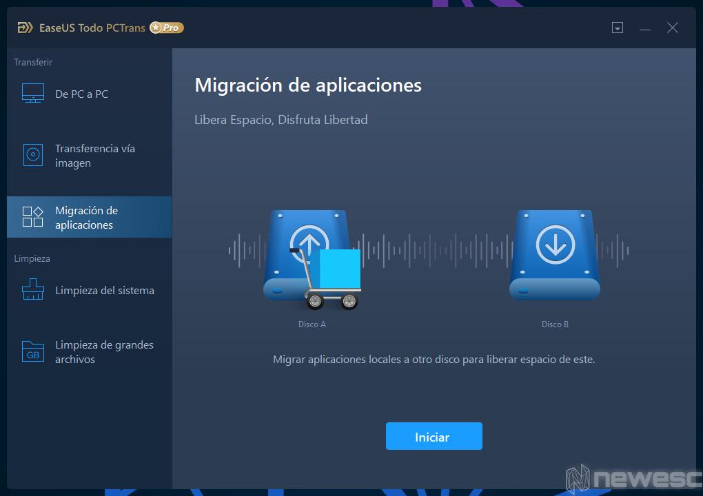 Review EaseUS Todo PCTrans migrar apps