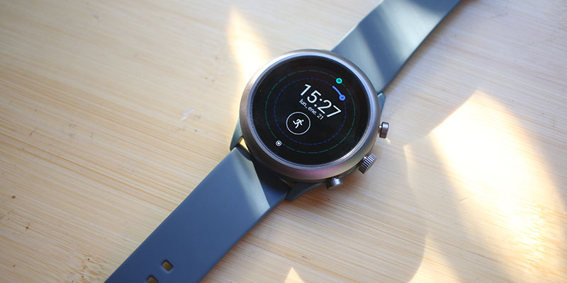 Review Fossil Sport Parte frontal