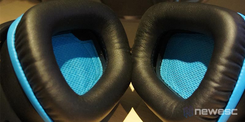 Review Logitech G432 - Almohadillas