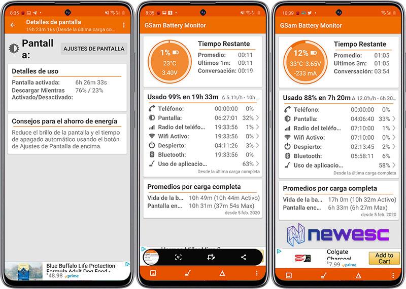 Review Galaxy A51 Bateria