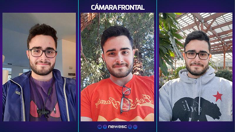 Review Galaxy A51 Cámara frontal