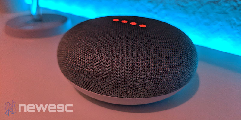 Review Google Home Mini diseño a oscuras