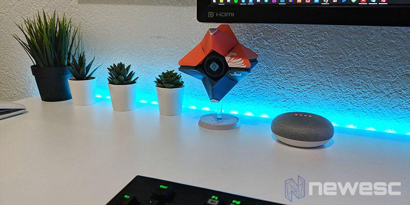 Review Google Home Mini tamaño y decoración