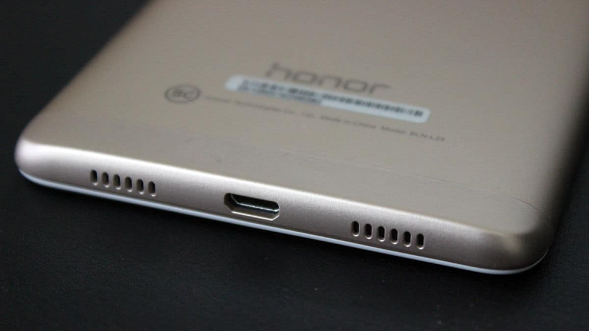 Review Honor 6X microusb altavoces