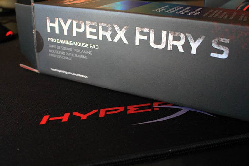 Review HyperX Pulsefire FPS Fury S NewEsc caja alfombrilla