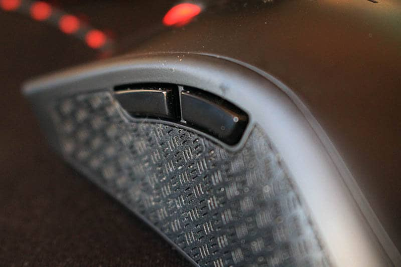 Review HyperX Pulsefire FPS Fury S NewEsc detalle botones laterales