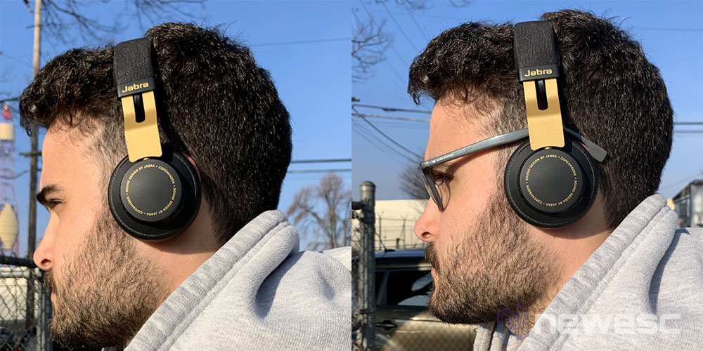 Review Jabra Move con gafas