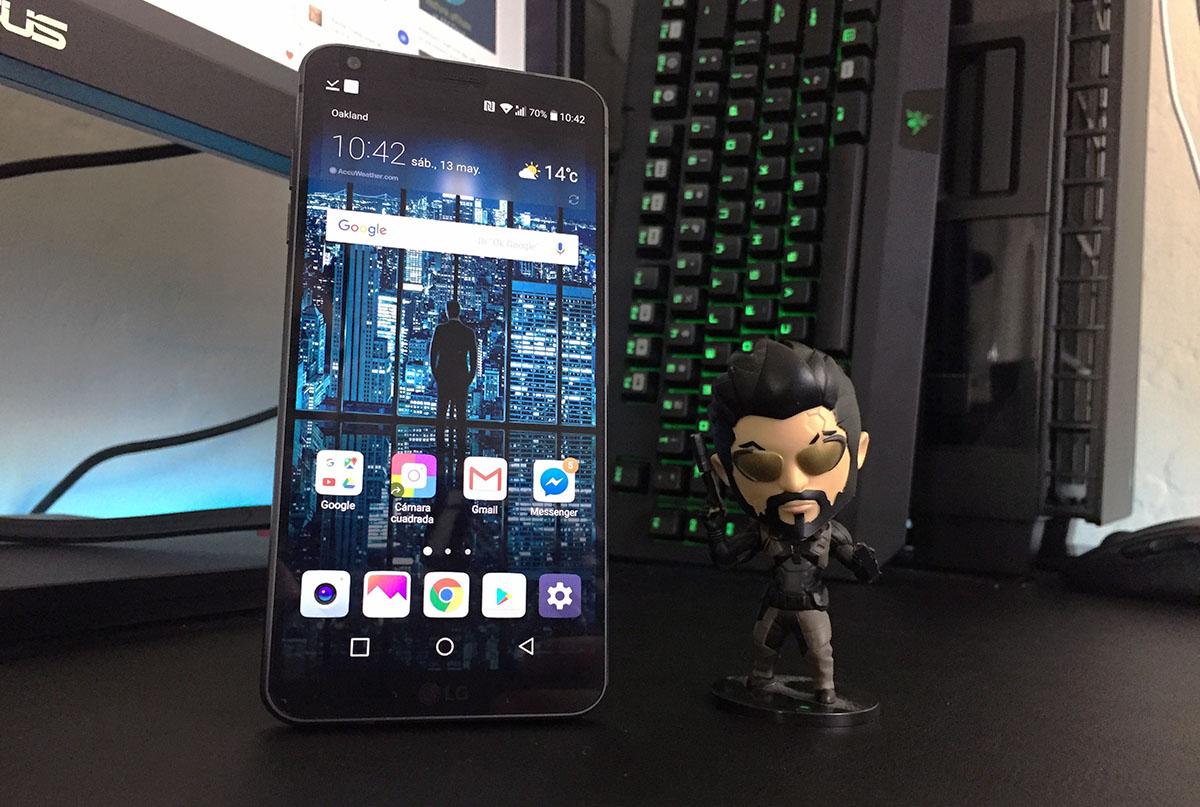 Review LG G6 - Pantalla y rendimiento