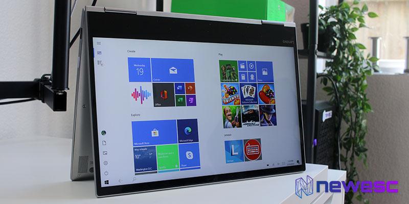 Review Lenovo Yoga 730 Pantalla