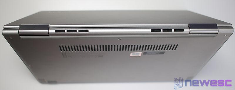 Review Lenovo Yoga 730 Ventilación