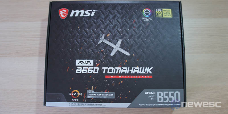 Review MSI B550 Tomahawk 1
