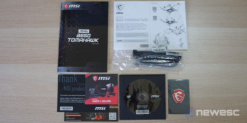 Review MSI B550 Tomahawk 2