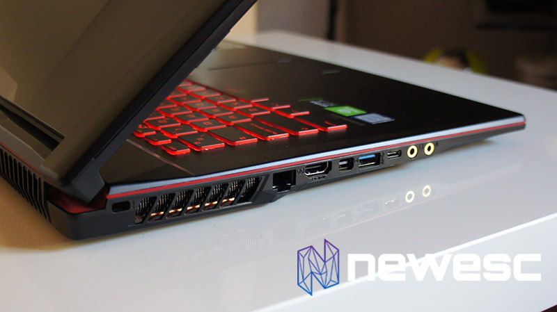 Review MSI GL73 - Lateral