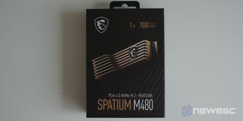 Review MSI Spatium M480 1TB 1