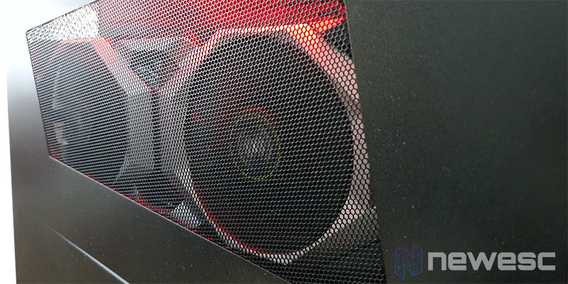 Review MSI Trident X vista del interior
