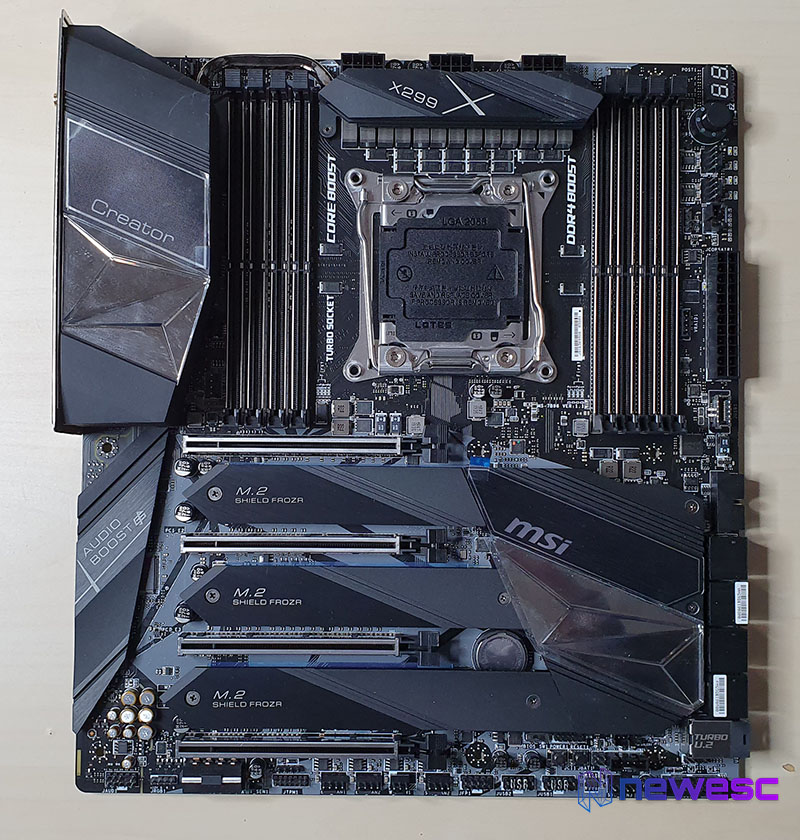 Review MSI X299 CREATOR 1