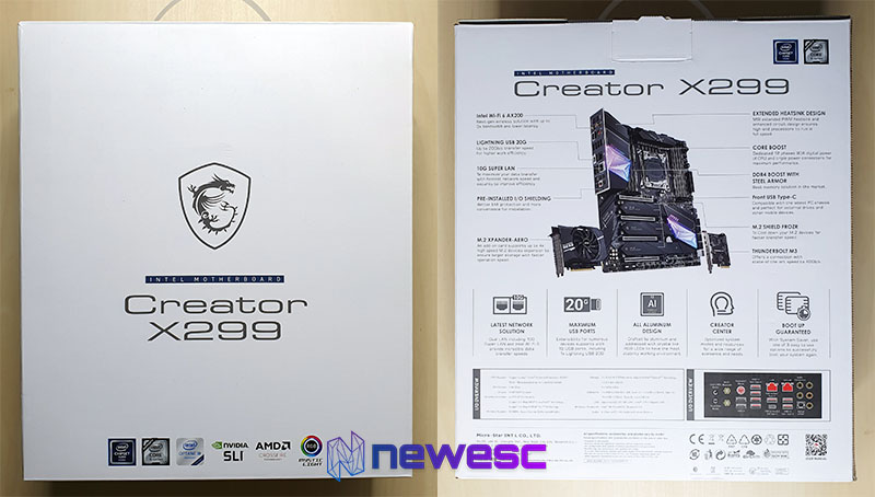 Review MSI X299 CREATOR 18